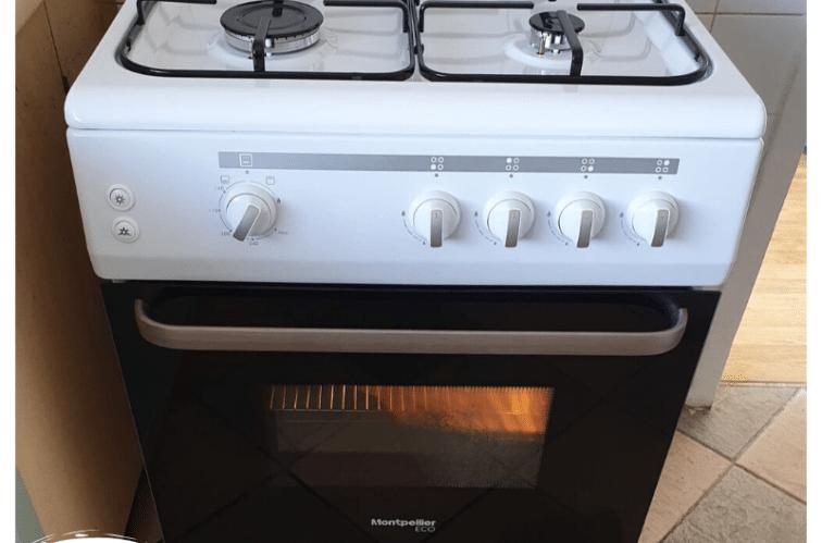 Montpellier scg60w gas cooker