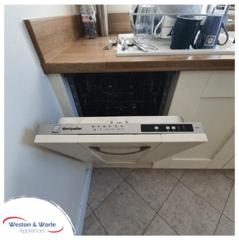 mdi450-2 slim-line fully integrated dishwasher